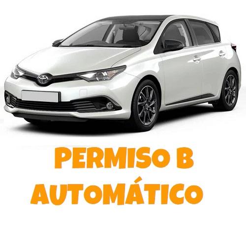 PERMISO B AUTOMÁTICO